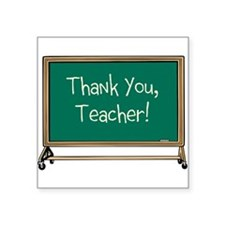 Thank a Teacher Sticker