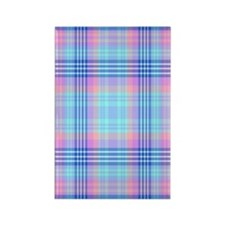 Abalone Plaid Rectangle Magnet