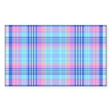 Abalone Plaid Decal