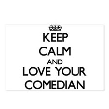 Keep Calm and Love your Comedian Postcards (Packag