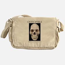 OSTEOPHILE: for bone lovers Messenger Bag