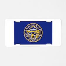 Flag of Nebraska Aluminum License Plate