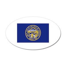 Flag of Nebraska Wall Decal