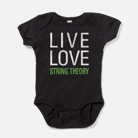 Live Love String Theory Baby Bodysuit