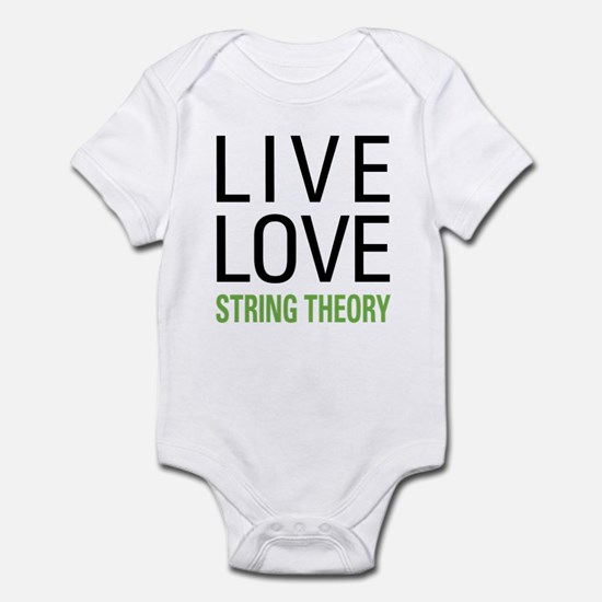 Live Love String Theory Infant Bodysuit