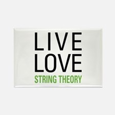 Live Love String Theory Rectangle Magnet