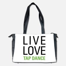 Live Love Tap Dance Diaper Bag