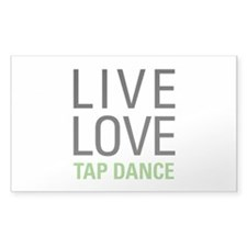 Live Love Tap Dance Decal