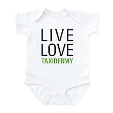 Live Love Taxidermy Infant Bodysuit
