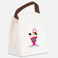 Born To Bake Canvas Lunch Bag