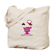 Born To Bake Tote Bag