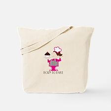Born To Bake Tote Bag