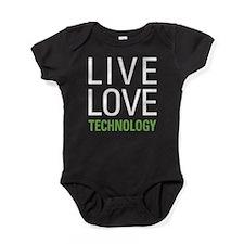 Live Love Technology Baby Bodysuit