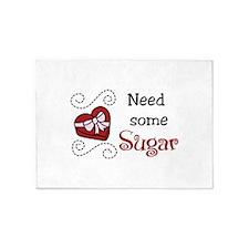 Need Some Sugar 5'x7'Area Rug