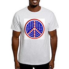"""Peace of America"" Grey T-Shirt"