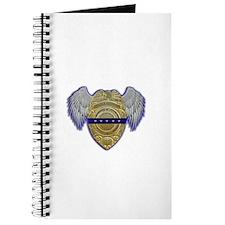 Fallen Police Officer Badge Journal