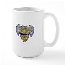 Fallen Police Officer Badge Mugs