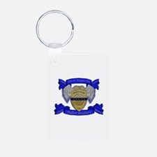 Fallen Police Officer Badge Keychains