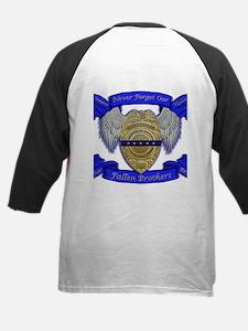 Fallen Police Officer Badge Baseball Jersey