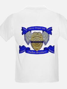 Fallen Police Officer Badge T-Shirt