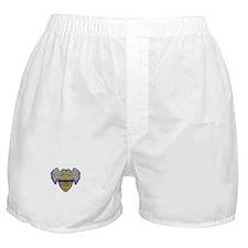 Fallen Police Officer Badge Boxer Shorts