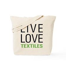 Live Love Textiles Tote Bag