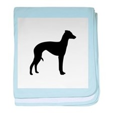 Italian Greyhound baby blanket