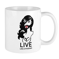 Conchita: Live like a Phoenix Mugs