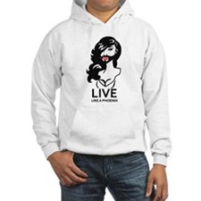 Conchita: Live like a Phoenix Hoodie
