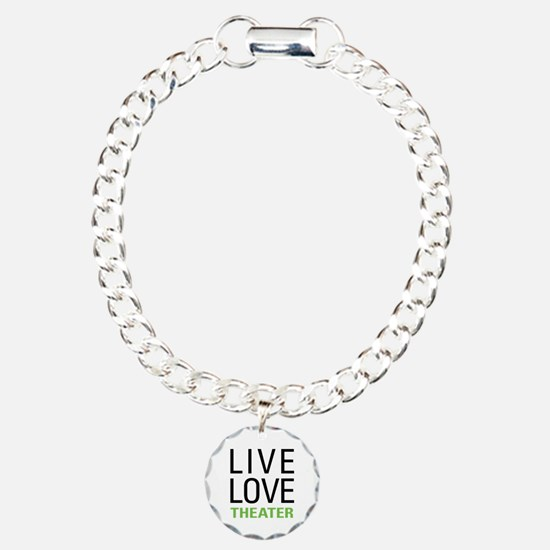 Live Love Theater Charm Bracelet, One Charm