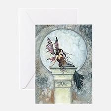 Autumn Moon Fairy Fantasy Art Greeting Cards