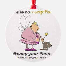 Poop Fairy Ornament