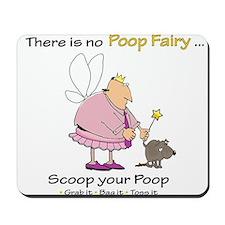 Poop Fairy Mousepad