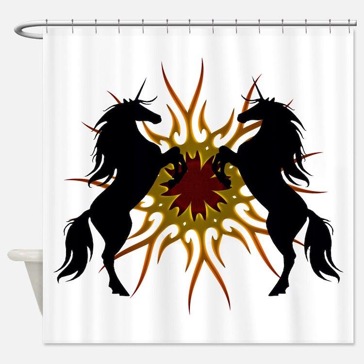Magical Unicorns Shower Curtain