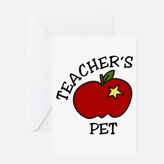 Teachers Pet Greeting Cards