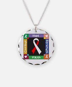 Oral Cancer Courage Necklace