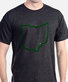 NJ to Athens OH T-Shirt