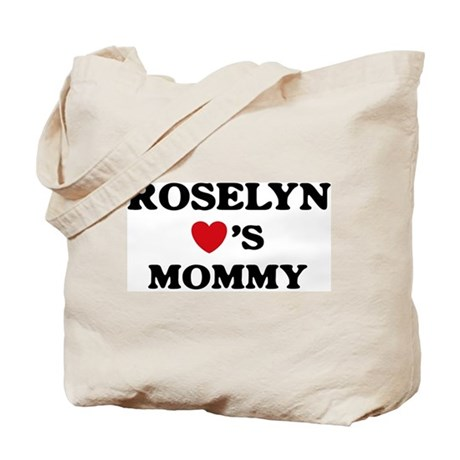 Roselyn loves mommy Tote Bag