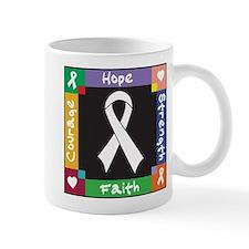 Lung Cancer Courage Mug