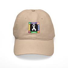 Lung Cancer Courage Baseball Cap