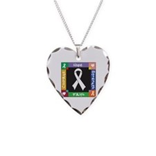 Lung Cancer Courage Necklace