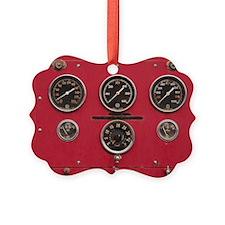 Fire Truck Gauges Ornament