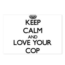 Keep Calm and Love your Cop Postcards (Package of