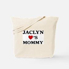 Jaclyn loves mommy Tote Bag
