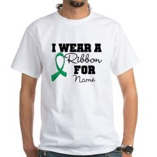 Custom Ribbon Liver Cancer T-Shirt