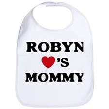 Robyn loves mommy Bib