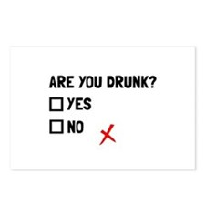 Are You Drunk Postcards (Package of 8)