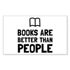 Books Better Than People Decal