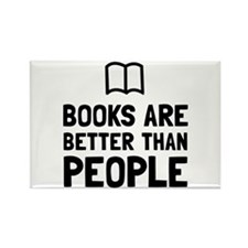 Books Better Than People Magnets
