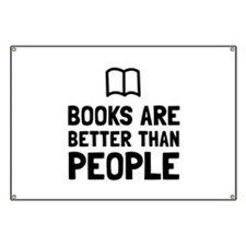Books Better Than People Banner